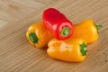Group Sweet Mini Peppers Stock Images - 28826304