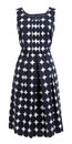 Dress With Polka Dots Stock Photography - 28829282