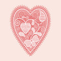 Lace Heart Royalty Free Stock Image - 28837696