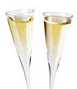 Two Champagne Glasses, Close Up Royalty Free Stock Photography - 28839297