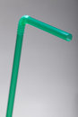 Green Straw On Grey Background With A Shallow DOF Royalty Free Stock Photos - 28840268