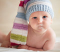 Baby In Hat Stock Photos - 28843133