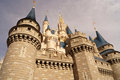 Cinderella S Castle Royalty Free Stock Image - 28850506
