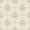 Seamless Royal Golden Wallpaper Royalty Free Stock Photos - 28853108