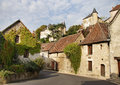 Medieval French Village Street Stock Images - 28860514