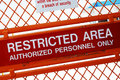 Restricted Area Royalty Free Stock Photo - 28868065