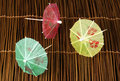 Colorful Cocktail Umbrellas Royalty Free Stock Photo - 28868665
