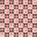 Seamless Pattern With Hearts In Retro Colors Stock Photos - 28872393