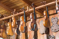 New And Old Violins In Workshop Stock Photos - 28887363