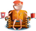 Norm The Remote Control Dude Royalty Free Stock Images - 28891639