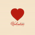 Valentine Heart Background With Valentine Message Royalty Free Stock Images - 28892169