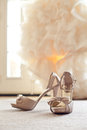 Wedding Shoes High Heels Royalty Free Stock Photography - 28898967