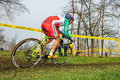 Cross Country Biker Marco Fontana Royalty Free Stock Images - 28906879