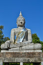 The Big Buddha Statue And Blue Sky Royalty Free Stock Images - 28907039