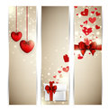 Valentine S Banners Stock Photography - 28910832