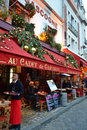 Street Cafe In Paris Royalty Free Stock Images - 28923269