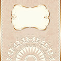 Romantic Vintage Border Royalty Free Stock Image - 28923386