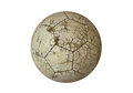 Ball Old Used White For Soccer Stock Images - 28926864