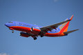 N553WN Southwest Airlines Boeing 737-7BX(WL) Royalty Free Stock Image - 28927696