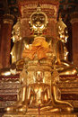 There Are Four Small Statues Of Buddha In The Temple Phumin Nan, Stock Images - 28928304