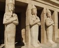 Hatschepsut Sculptures Made Of Stone Royalty Free Stock Images - 28930729