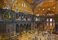 Hagia Sophia Interior At Istanbul Turkey Royalty Free Stock Images - 28934549