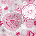 Seamless Pattern With Hearts Royalty Free Stock Photography - 28936147