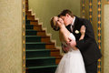 Bride And Groom Kiss Royalty Free Stock Photo - 28939715
