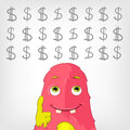 Funny Monster. Royalty Free Stock Images - 28942629