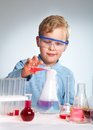Risky Experiment Royalty Free Stock Photography - 28950857
