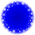 Winter Frame With Snowflakes Stock Images - 28952134