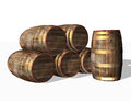 Wooden Barrels,  Object Royalty Free Stock Images - 28958139