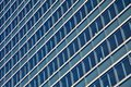 Blue Glass High Rise Building Skyscrapers Royalty Free Stock Image - 28958186