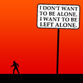 Left Alone Stock Photography - 28958552