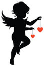 Silhouette Of Angel Stock Image - 28959711