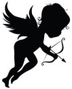 Silhouette Of Angel Royalty Free Stock Photography - 28959737