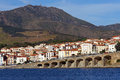 Town Of Banyuls-sur-Mer In The French Mediterranean Coast Royalty Free Stock Image - 28963886