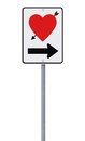 Road Sign On Love Royalty Free Stock Images - 28973609