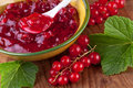 Currant Jam With Fresh Berries Royalty Free Stock Photography - 28976987