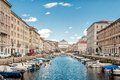 Canal Grande In Trieste Stock Photography - 28977362
