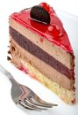 Slice Of Cake Royalty Free Stock Photo - 28979015