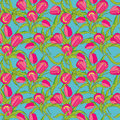 Floral Vector Seamless Pattern Stock Photo - 28983100