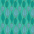 Vector Seamless Pattern With Leaves Stock Photos - 28983233