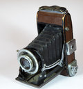 Vintage Camera With Big Lens Royalty Free Stock Photo - 28993075