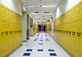 High School Hallway Royalty Free Stock Photo - 28993585