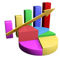Business Graph Royalty Free Stock Images - 2900649