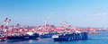 China Qingdao Port Container Terminal Royalty Free Stock Photography - 29000667