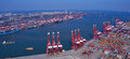 China Qingdao Port Container Terminal Royalty Free Stock Photography - 29000777