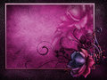 Dark Frame With A Vintage Rose Royalty Free Stock Image - 29003026