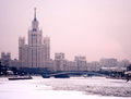 Moscow Winter Twilight Royalty Free Stock Image - 29006056